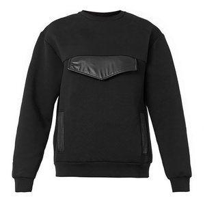 Christopher Kane Oversized Neoprene Sweatshirt XS